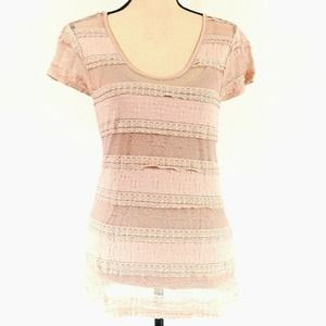 Banana Republic Top Pink Medium